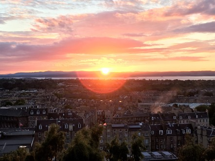 Calton Hill Sunset